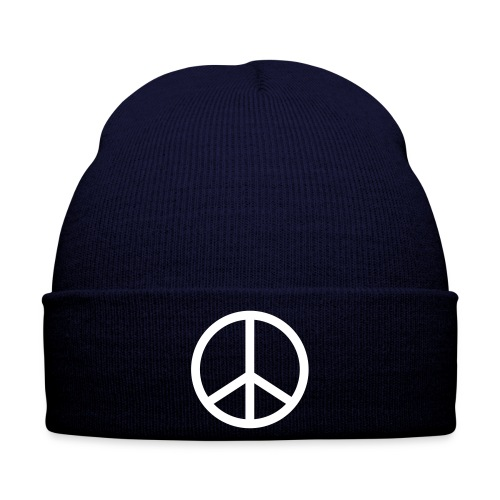 peace blue hat - Winter Hat