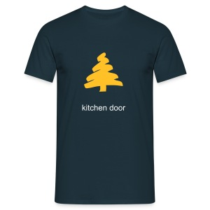 kdoor fir blue - Men's T-Shirt