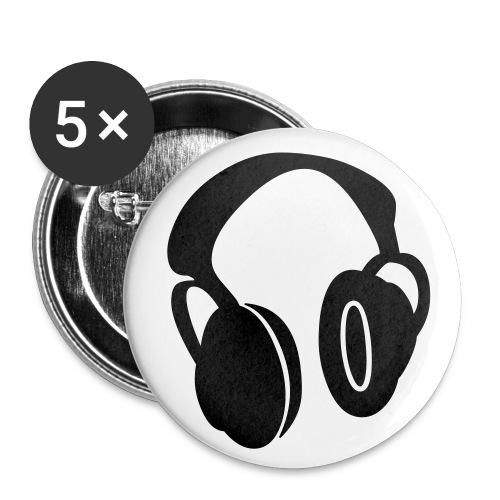 Button`s - Liten pin 25 mm (5-er pakke)