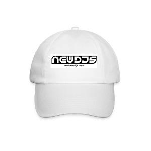 NewDJs.com Cap - White - Baseball Cap