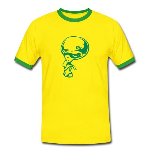 Mens Slim Contrast Tee - Men's Ringer Shirt