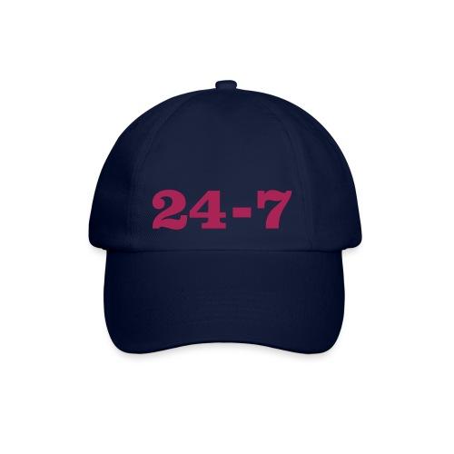 baseball cap with 24-7 design - Baseball Cap