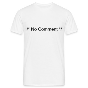 /* no comment - T-shirt Homme