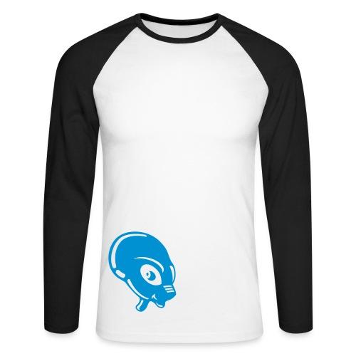 Alien - Men's Long Sleeve Baseball T-Shirt
