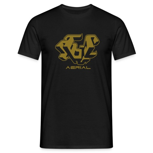 Aerial (gold) - Miesten t-paita