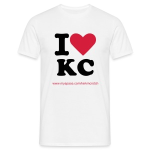 I heart KC - Men's T-Shirt