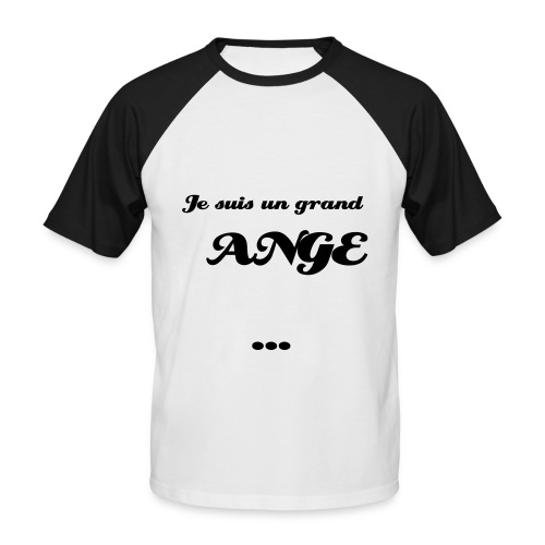 ANGE homme - T-shirt baseball manches courtes Homme
