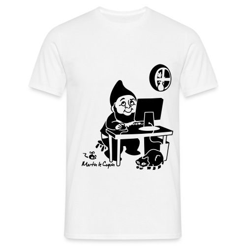 Dessin devant - T-shirt Homme