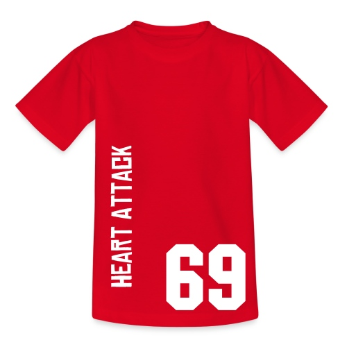 Youth 69 Red T - Teenage T-Shirt