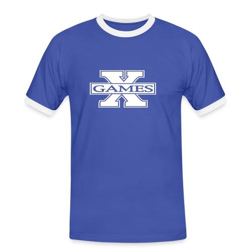 X-Games t-skjorte - Kontrast-T-skjorte for menn