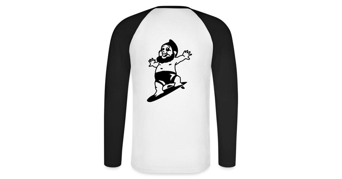 La boutique du nain de jardin martin le coquin martin le coquin surfer t shirt baseball - La boutique du jardin ...