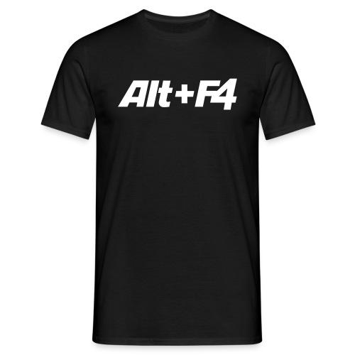 LAN-Wear / Alt+F4 - Männer T-Shirt