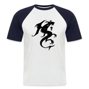 Dragon T.paita - Miesten lyhythihainen baseballpaita