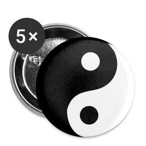 Przypinka 32mm Ying-Yang - Przypinka średnia 32 mm