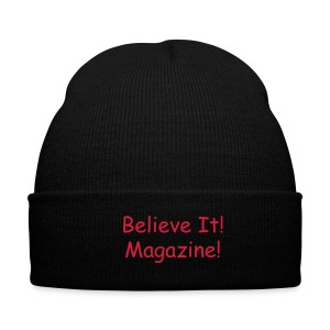 Black/Red hat - Winter Hat