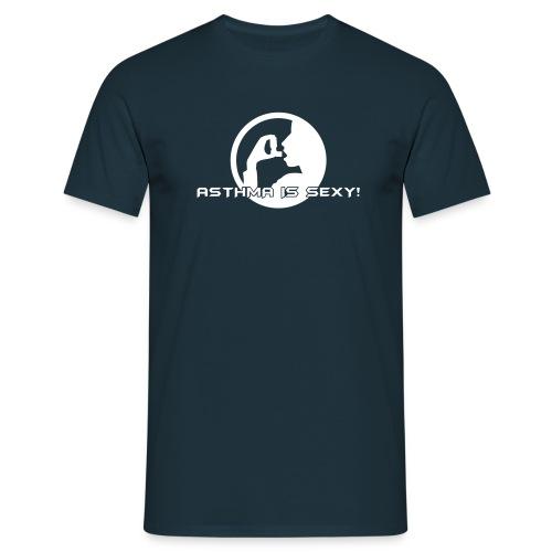 Navy Asthma noch ein bissi kleiner ^^ - Männer T-Shirt
