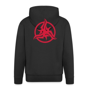 Hooded Jacket (Red Symbol) - Men's Premium Hooded Jacket
