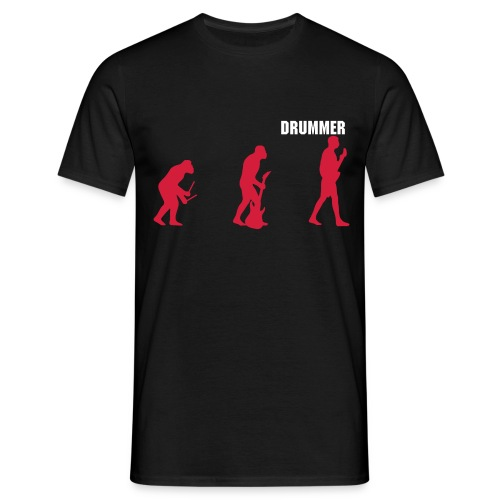 Drummer T-Shirt - Men's T-Shirt