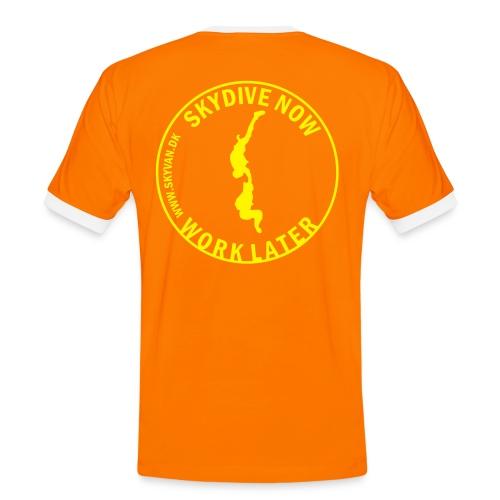 Skydive Now - Männer Kontrast-T-Shirt