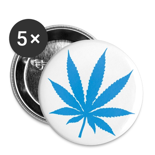 cannabis badge - Buttons medium 32 mm