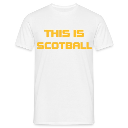 This is ScotBall - Men's T-Shirt