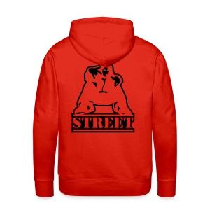 Hooded sweater Street - Mannen Premium hoodie
