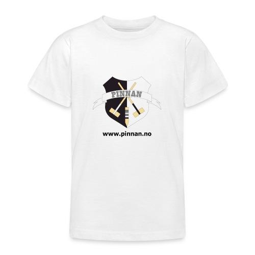 Vanlig t-skjorte med navn (barn) - T-skjorte for tenåringer
