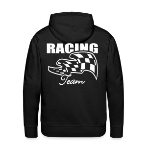 Hooded Sweater Racing - Mannen Premium hoodie