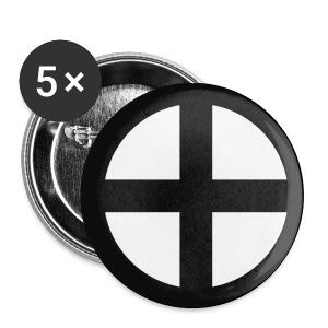 Przypinka Krzyż słoneczny - Przypinka średnia 32 mm