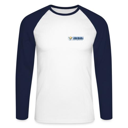 MBN Long Sleeve - Men's Long Sleeve Baseball T-Shirt