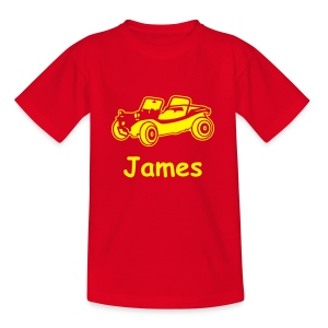 Junior T (Buggy) Personalised - Teenage T-shirt