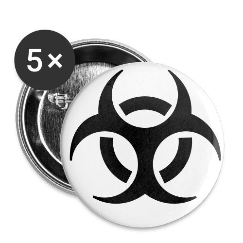 Hazard - Rintamerkit pienet 25 mm (5kpl pakkauksessa)