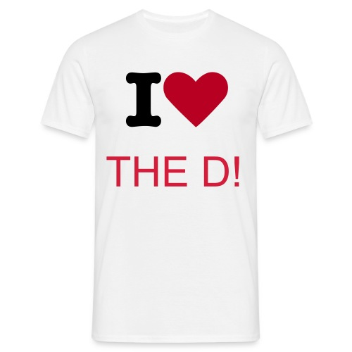 Love the D - Men's T-Shirt
