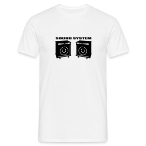 Sound System - Men's T-Shirt