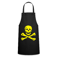 Aprons ~ Cooking Apron ~ C - Pirate Apron