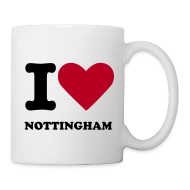 Mugs & Drinkware ~ Mug ~ I Love Nottingham Mug