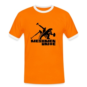 MESHMEN UNITE ORANGE - Men's Ringer Shirt