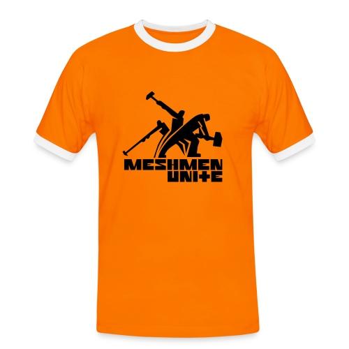 MESHMEN UNITE ORANGE - Men's Ringer Shirt
