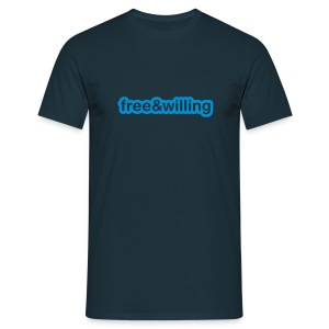 Free and Willing - Men's T-Shirt