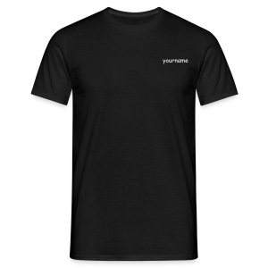 yourname on 13 - Männer T-Shirt