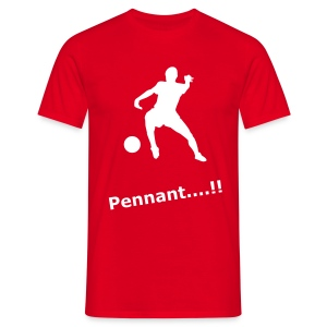Pennant (Red) - Men's T-Shirt