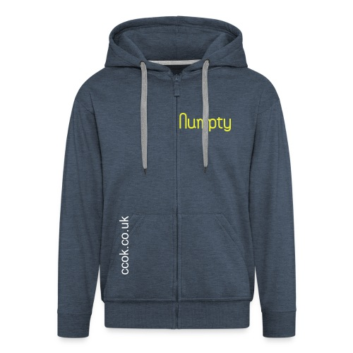 Another Numpty Hoody - man oh man - Men's Premium Hooded Jacket