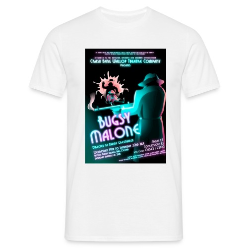 T-Shirt with Bugsy Malone Poster - Men's T-Shirt