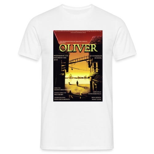 T-Shirt with Oliver Poster - Men's T-Shirt