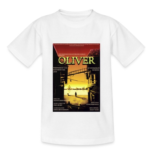 Kids T-Shirt with Oliver Poster - Teenage T-Shirt