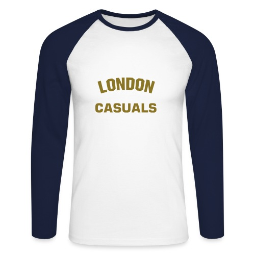 Men's Longsleeve (London Casuals) - Men's Long Sleeve Baseball T-Shirt