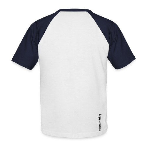 Bcréation - T-shirt baseball manches courtes Homme