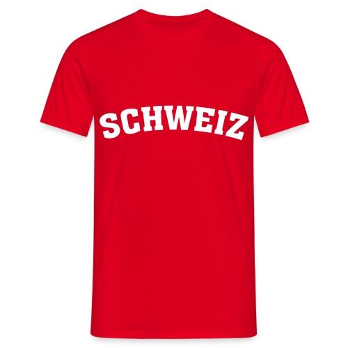 Schweiz - Männer T-Shirt