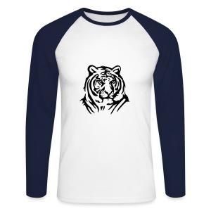 Tiger - Långärmad basebolltröja herr
