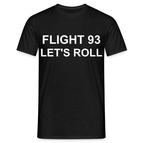 FLIGHT 93 TSHIRT BLK - Men's T-Shirt